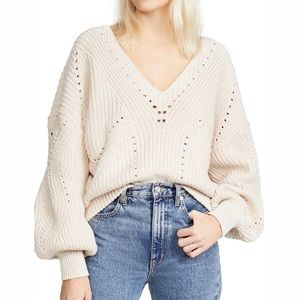 NWT Free People All Day Long Sweater